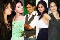 Sana Sheikh, Sara Khan, Sunil Grover, Mouni Roy and Rajeshwari Sachdev