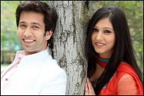 Nakuul Mehta and Disha Parmar