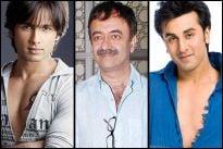 Shahid Kapoor, Rajkumar Hirani and Ranbir Kapoor