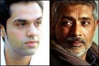 Abhay Deol and Prakash Jha