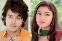 Aniruddh Dave and Pooja Sharma