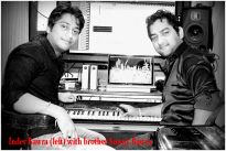 Inder Bawra (left) with brother Sunny Bawra
