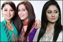 Adaa Khan, Dimple Jhangiani and Ankita Sharma