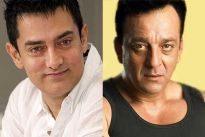 Aamir Khan and Sanjay Dutt