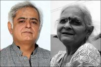 Hansal Mehta and his mother