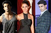 Karan Singh Grover, Jennifer Winget and Gautam Rode