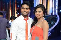 Salman Yusuff Khan and Drashti Dhami