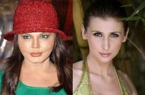 Rakhi Sawant and Claudia Ciesla