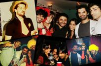 Hussain, Sharad, Barun, Sanaya, Mohit party hard at Raqesh