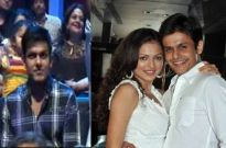 (Left)- Neeraj during Jhalak finale; (right) Drashti and Neeraj's past pic