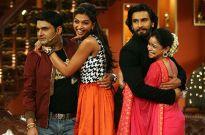 Ranveer Singh and Deepika Padukone have a blast on Colors