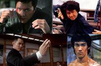 Bruce Lee, Donnie Yen, Jackie Chan, Jet Li, Angela Mao