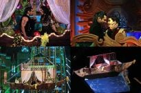 Karan & Surbhi's sizzling aerial shikara act to dazzle viewers at the Zee Rishtey Awards