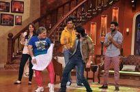 R…Rajkumar team on Colors' Comedy Nights with Kapil
