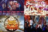 Shahid and Prabhu Dheva on Sony TV's Boogie Woogie and Comedy Circus Ke Mahabali