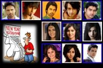 TV actors and their New Year