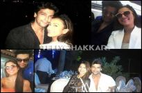 Kushal and Gauahar in Goa