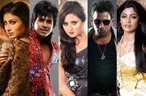 Mouni, Rashmi, Siddhesh, Dharmesh, Sayantani in