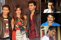 Ravi Kishan, Manoj Tiwari, Nirahua and Gunday cast shooting for Comedy Nights with Kapil
