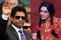 Sachin Tendulkar and Sunil Grover