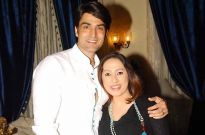 Rajeev Singh and his wife singer Sanober Kabir
