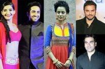 Ayushmann, Sonam and Kangana on Sony TV