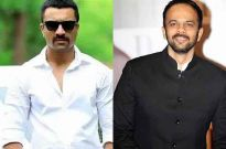 Ajaz Khan and Rohit Shetty