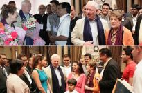 Canadian Governor visits the sets of Shashi-Sumeet Productions' Tumhari Paakhi