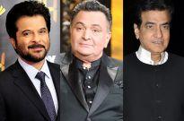 Anil Kapoor, Rishi Kapoor, Jeetendra