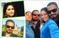 Hina Khan with her boyfriend Rocky Jaiswal