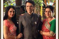 Padmini Kolhapure, Sooraj Thapar and Poonam Dhillon