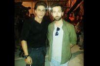 Shah Rukh Khan and Nakuul Mehta