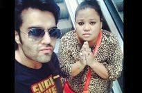 Manish Paul and Bharti Singh