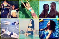 Instapics of TV hotties in Swimming Pool