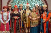 Navratri celebration with AKBAR BIRBAL