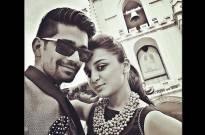 Vishal Singh and Jeena Gupta