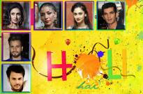 Happy Holi...Wish TV Celebs