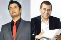 Marzi Pestonji and Chetan Bhagat