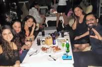 Reunion fun: Kkusum cast party together