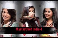 Three finalists -- Neha Shah, Bhakti Arora and Nikita Gandhi