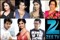 Sargun, Sayantani, Karanvir, Karan, Ratan, Usha, Eijaz in Zee TV