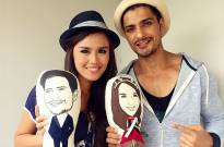 Vin Rana and Nita Sofiani