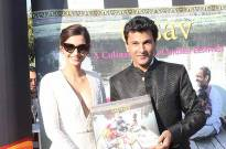 Sonam unveils Vikas Khanna's book at Cannes