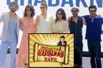 Team Dil Dhadakne Do on Comedy Nights