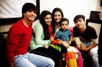 Pallavi Kulkarni's reel kids bond with her real son