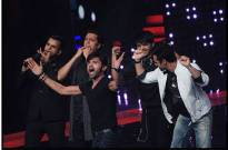 Riteish- Pulkit perform the HR signature step in &TV's The Voice