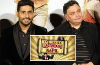 All Is Well cast on Comedy Nights with Kapil