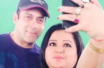 Salman Khan and Bharti Singh