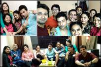 Akhlaque Khan throws a party for his Jaane Kya Hoga Aagey team