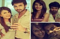 director Prateek Shah and Jasmine Avasiya